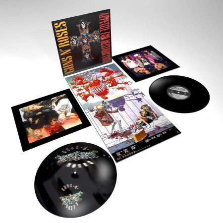 Guns N' Roses: Appetite for Destruction - Plak