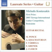 Michalis Kontaxakis: Guitar Recital: Michalis Kontaxakis - CD