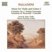 Paganini: Music for Violin and Guitar, Vol. 1 - CD