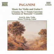Paganini: Music for Violin and Guitar, Vol. 1 - CD