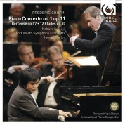 Nobuyuki Tsujii, Fort Worth Symphony Orchestra, James Conlon: Chopin: Piano Concerto no.1 in E minor op.11, 12 Etudes op.10 - CD
