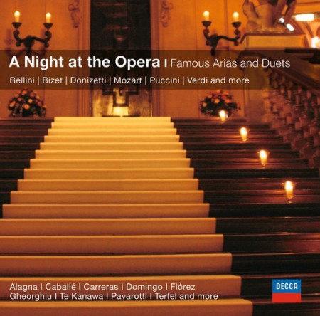 Agnes Baltsa, Edita Gruberova, Luciano Pavarotti, Jon Vickers, Plácido Domingo: An Evening At The Opera - Famous Opera Arias - CD