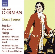 David Russell Hulme: German, E.: Tom Jones [Operetta] - CD