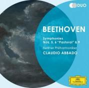 Berliner Philharmoniker, Claudio Abbado: Beethoven: Symphonies Nos. 5, 6 & 9 - CD