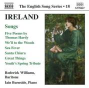 Roderick Williams: Ireland: 5 Poems / We'Ll To the Woods No More / Sea Fever / Santa Chiara (English Song, Vol. 18) - CD