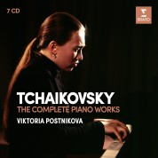 Viktoria Postnikova: Tchaikovsky: The Complete Piano Works - CD