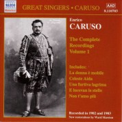 Caruso, Enrico: Complete Recordings, Vol.  1 (1902-1903) - CD