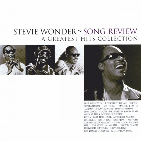 Stevie Wonder: Song Review - A Greatest Hits Collection - CD