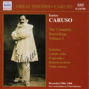 Caruso, Enrico: Complete Recordings, Vol.  3 (1906-1908) - CD