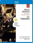 Martha Argerich, Royal Stockholm Philharmonic Orchestra, Yuri Temirkanov: Martha Argerich - Nobel Prize Concert 2009 - BluRay