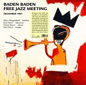 Don Cherry: Baden Baden Free Jazz Meeting December - Plak
