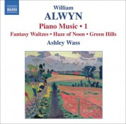 Ashley Wass: Alwyn: Piano Music, Vol. 1 - CD