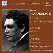 John McCormack: Mccormack, John: Mccormack Edition, Vol. 7: The Acoustic Recordings (1916-1918) - CD