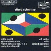 Ulf Wallin, Roland Pöntinen: Schnittke - Violin Sonatas - CD