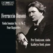 Per Enoksson, Kathryn Stott: Busoni: Violin Sonatas - CD