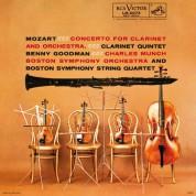 Benny Goodman, Boston Symphony Orchestra, Charles Munch: Mozart: Clarinet Concerto In A Major K.622 & Clarinet Quintet In A Major K.581 - CD