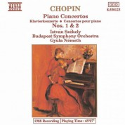 Istvan Szekely: Chopin: Piano Concertos Nos. 1 and 2 - CD