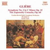 Gliere: Symphony No. 2 / The Zaporozhy Cossacks - CD