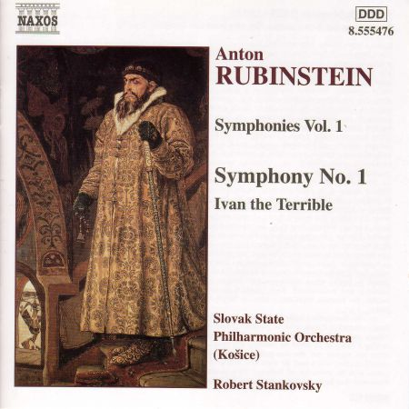 Kosice Slovak State Philharmonic Orchestra, Robert Stankovsky: Rubinstein: Symphony No. 1 / Ivan the Terrible - CD