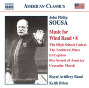 Keith Brion: Sousa: Music for Wind Band, Vol. 8 - CD