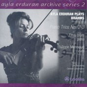 Ayla Erduran: Brahms: Piano Trios No: 2 - 3 (Archive Series 2) - CD