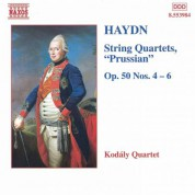 Haydn: String Quartets Op. 50, Nos. 4 - 6, 'Prussian' - CD