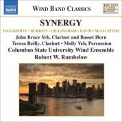 Columbus State University Wind Ensemble: Wind Band Music - Daugherty, M. / Burritt, M. / Gillingham, D. (Synergy) - CD