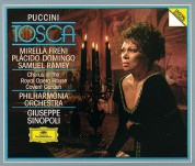 Chorus of the Royal Opera House, Covent Garden, Plácido Domingo, Mirella Freni, Giuseppe Sinopoli, Philharmonia Orchestra, Samuel Ramey, Bryn Terfel, Angelo Veccia: Puccini: Tosca - CD