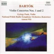 Narodowa Orkiestra Symfoniczna Polskiego Radia, György Pauk, Antoni Wit: Bartók: Violin Concertos Nos. 1 & 2 - CD