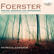Patricia Goodson: Foerster: Complete Solo Piano Music - CD
