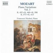 Mozart: Piano Variations, Vol.  3 - CD