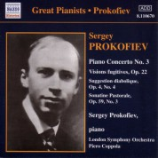Prokofiev: Piano Concerto No. 3 / Vision Fugitives (Prokofiev) (1932, 1935) - CD