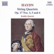 Haydn: String Quartets Op. 17, Nos. 3, 5 and 6 - CD