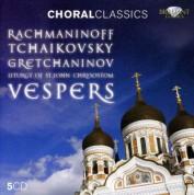 Rachmaninov, Tchaikovsky & Gretchaninov: Vespers - Liturgy of St. John Chrystostom - CD