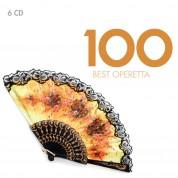 Çeşitli Sanatçılar: Best 100 - Operetta - CD