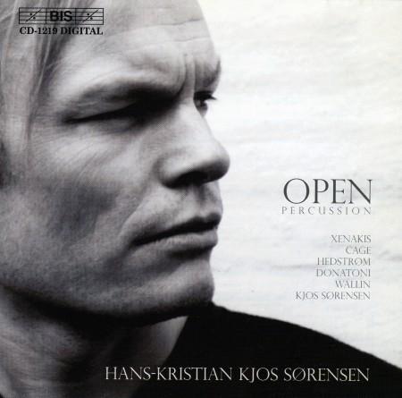 Hans-Kristian Kjos Sørensen: Open Percussion - CD