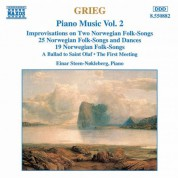 Grieg: Norwegian Folk Songs and Dances, Op. 17 and Op. 66 - CD