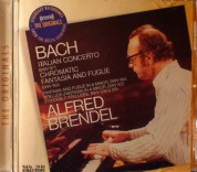 Alfred Brendel: Bach Italian Concerto ETC - CD