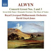 David Lloyd-Jones: Alwyn: Concerti Grossi Nos. 2 & 3 - CD