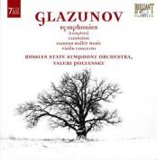 Russian State Symphony Orchestra, Valeri Polyansky, Alexander Konstantinovich Glazunov: Glazunov: Complete Symphonies - CD
