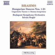 Istvan Bogar: Brahms: Hungarian Dances Nos. 1-21 - CD