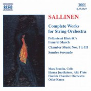 Sallinen: Works for String Orchestra (Complete) - CD