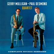 Gerry Mulligan, Paul Desmond: Complete Studio Sessions - CD