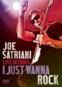 Joe Satriani: Live In Paris 2008: I Just Wanna Rock - DVD