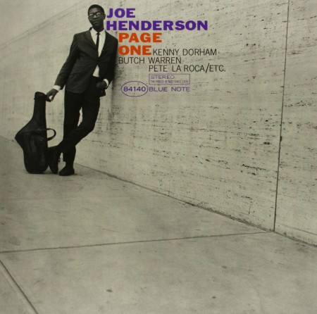 Joe Henderson: Page One - Plak