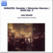 Janacek: Danube / Moravian Dances / Suite Op. 3 - CD
