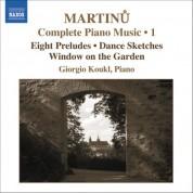 Giorgio Koukl: Martinu, B.: Complete Piano Music, Vol. 1 - CD