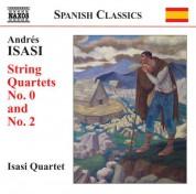 Isasi Quartet: Isasi: String Quartets, Vol. 1 - CD