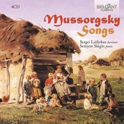 Sergei Leiferkus, Semyon Skigin: Mussorgsky: Songs - CD