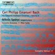 Miklós Spányi, Concerto Armonico, Péter Szűts: C.P.E. Bach: Keyboard Concertos, Vol. 9 - CD